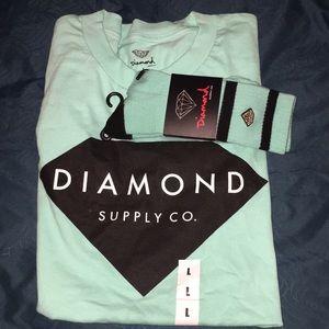 Diamond Supply Shirt with matching socks